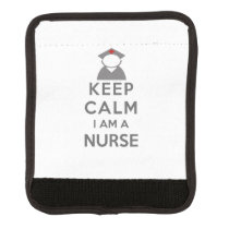Nurse Symbol Keep Calm I am a Nurse Handle Wrap