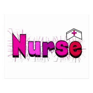 """""""NURSE""""  T-shirts and Gifts Postcard"""