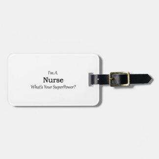 Nurse Tag For Luggage