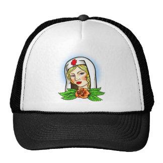Nurse Tattoo Trucker Hat