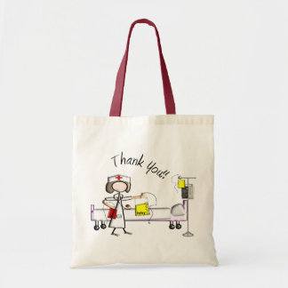 "Nurse ""Thank You"" Gifts Budget Tote Bag"