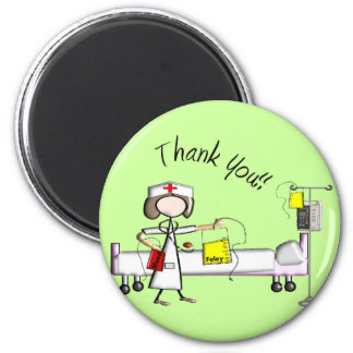 """Nurse """"Thank You"""" Gifts Magnet"""