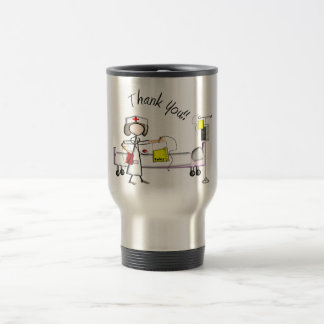 "Nurse ""Thank You"" Gifts Travel Mug"