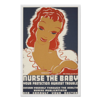 Nurse The Baby Poster