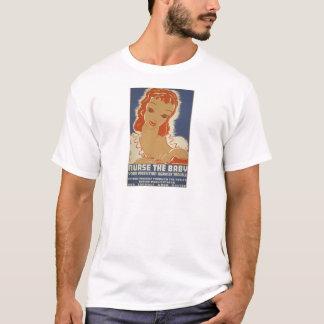 Nurse the Baby WPA Poster T-Shirt