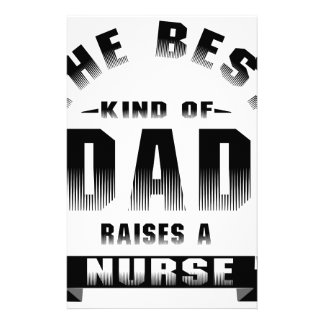 Nurse, the best kind of dad stationery