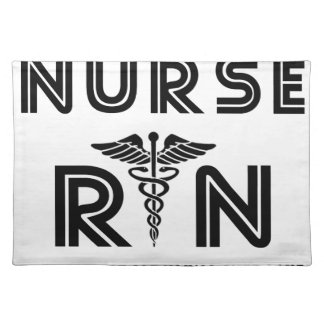 Nurse the hardest job you will ever have placemat