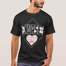 Nurse The Hardest Job Youll Ever Love Nurse Shirt