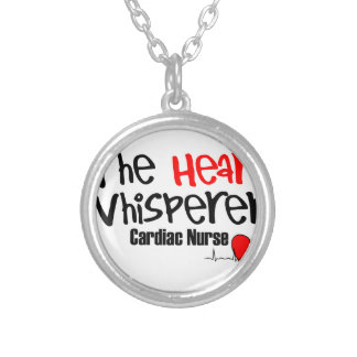 Nurse the heart whisperer silver plated necklace