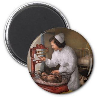 Nurse - The pediatrics ward 1943 2 Inch Round Magnet