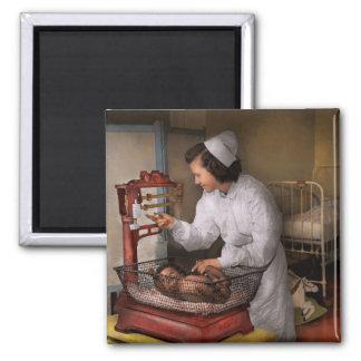 Nurse - The pediatrics ward 1943 2 Inch Square Magnet