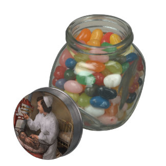 Nurse - The pediatrics ward 1943 Glass Candy Jars