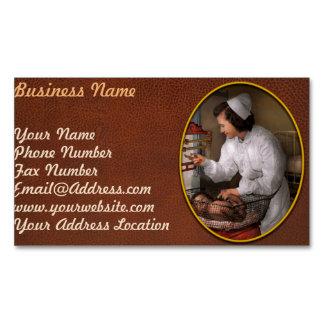 Nurse - The pediatrics ward 1943 Magnetic Business Card