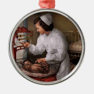 Nurse - The pediatrics ward 1943 Metal Ornament