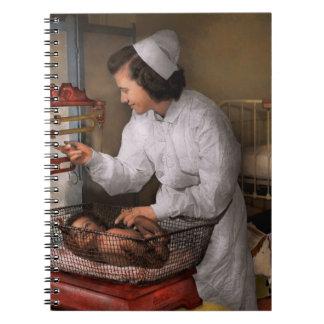 Nurse - The pediatrics ward 1943 Notebook