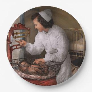Nurse - The pediatrics ward 1943 Paper Plate