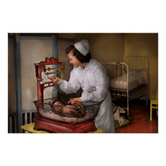 Nurse - The pediatrics ward 1943 Poster