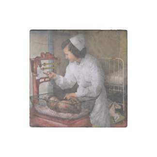 Nurse - The pediatrics ward 1943 Stone Magnet