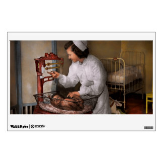 Nurse - The pediatrics ward 1943 Wall Sticker