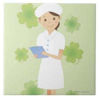 Nurse Ceramic Tiles