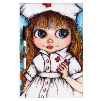 Nurse To The Rescue! A Spoonful of Sugar Dry-Erase Board