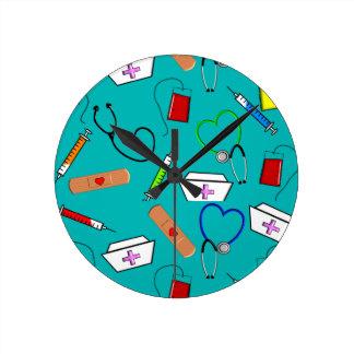 Nurse Tools Round Clock