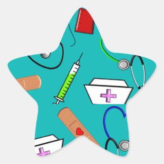 Nurse Tools Star Sticker