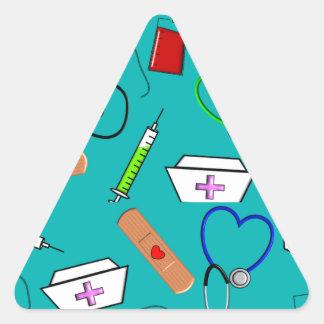 Nurse Tools Triangle Sticker