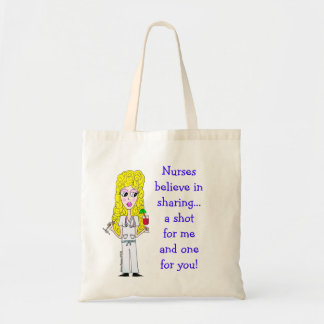 Nurse Tote Budget Tote Bag