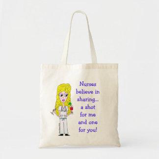 Nurse Tote Canvas Bags
