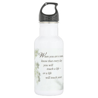 Nurse Touch a Life With Wild Flowers Water Bottle