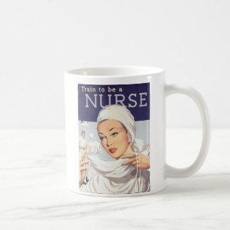 NURSE TRAINEE CLASSIC WHITE COFFEE MUG