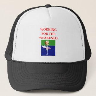 NURSE TRUCKER HAT