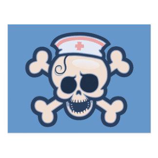 Nurse Wenchet Postcard