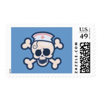 Nurse Wenchet Stamp