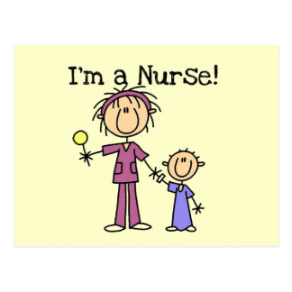 Nurse With Child T-shirts and Gifts Postcard