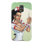 Nurse With Dreadlocks Giving You A Shot Galaxy S5 Covers