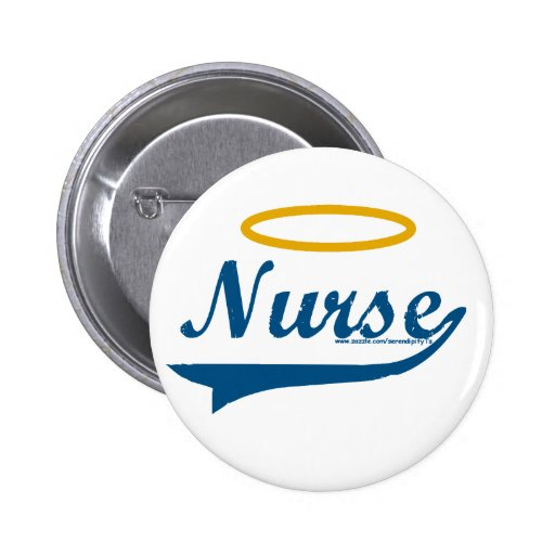 Nurse (with Halo) Buttons