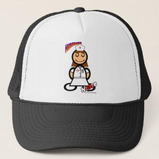 Nurse (with logos) trucker hat