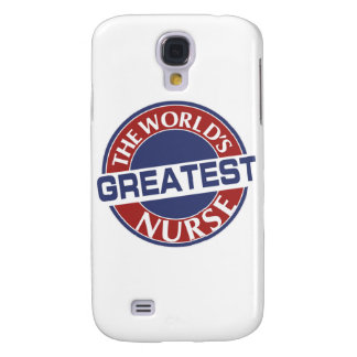 NURSE WORLDS GREATEST 40X40 SAMSUNG GALAXY S4 CASE