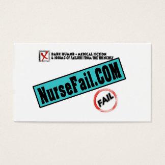 NurseFail Business Cards