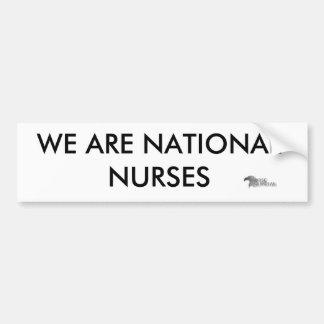 Nurseguardianlogo Pegatina De Parachoque