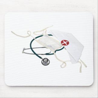 NurseHatMask082309 Mousepads