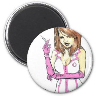 NurseLisa 2 Inch Round Magnet