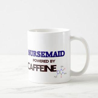 Nursemaid accionado por el cafeína taza clásica