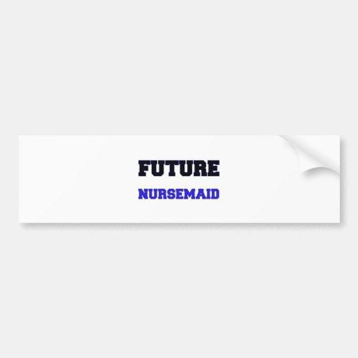 Nursemaid futuro pegatina para auto