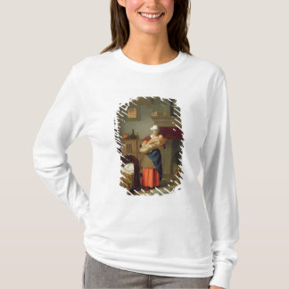 Nursemaid with baby in an interior T-Shirt