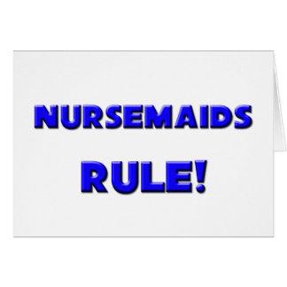 Nursemaids Rule! Greeting Cards