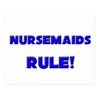 Nursemaids Rule! Postcards