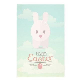 Nursery Art Cute Animal Decor Bunny Illustration Stationery